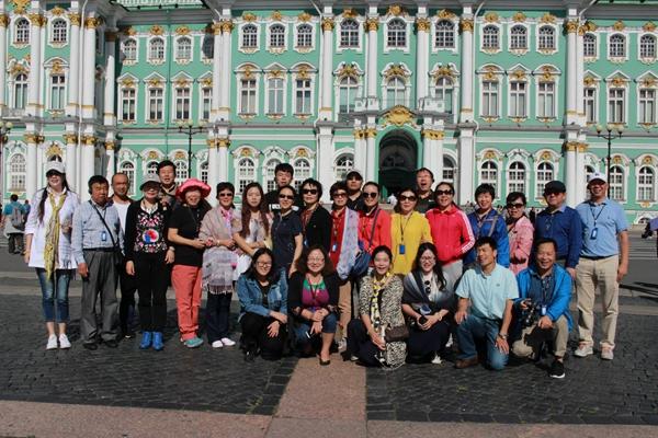 挡不住的辉煌——俄罗斯冬宫巡礼